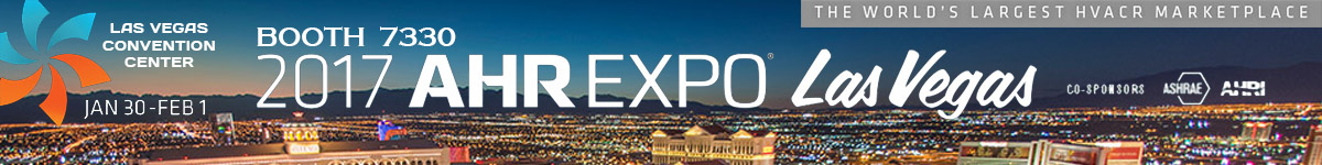 2017 AHR EXPO Las Vegas Jan 30 - Feb 1